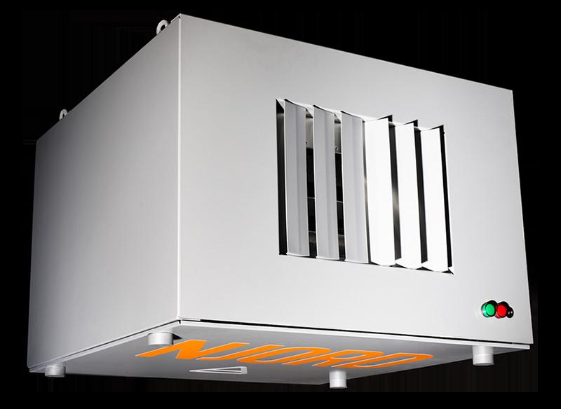 Smart luftrenare för ren och frisk luft Njord XP-C